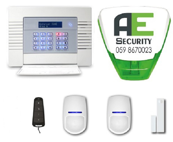 Pre-Wired Alarm System €499